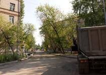 на Заречной улице (Филевский Парк)