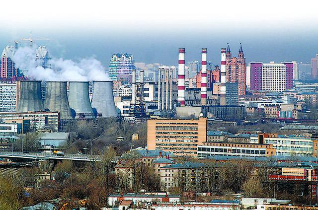 Новостройки Москвы вытесняют промзоны