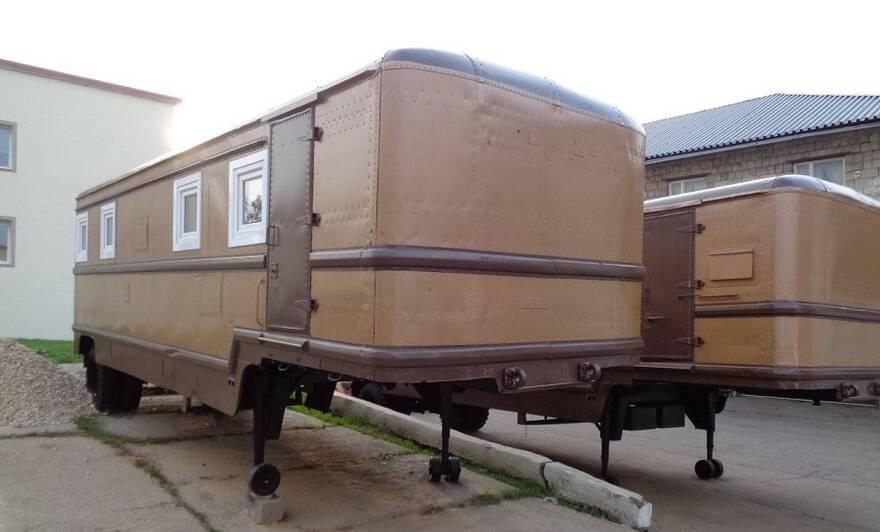 Бытовки на базе полуприцепа-фургона модели 828М на продажу в Подмосковье