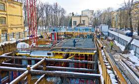 МФК «Residence Hall Шаболовский»: ход строительства