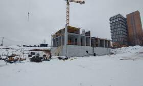 ЖК «Мичуринский парк»: ход строительства корпуса №1.4