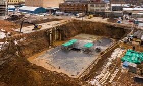 ЖК «Руставели 14»: ход строительства корпуса №1.3