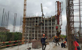 МФК «B'aires»: ход строительства