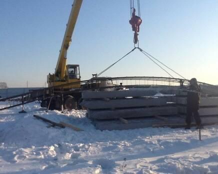 Строительство КП «Зеленоградский», Февраль 2013