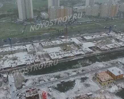 Малоэтажный ЖК «Потапово Lite»: ход строительства, Ноябрь 2016
