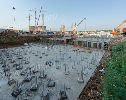 ЖК «Новое Медведково»: ход строительства корпуса №14, Сентябрь 2019