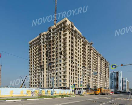 ЖК «Новое Медведково»: ход строительства корпуса №15, Сентябрь 2019