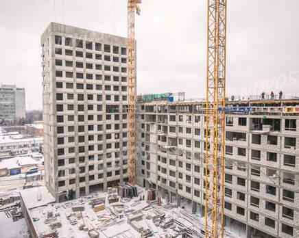 МФК «MainStreet»: ход строительства, Февраль 2021
