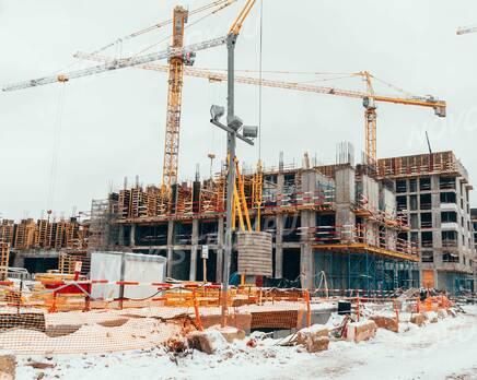 ЖК «Homecity»: ход строительства, Февраль 2021