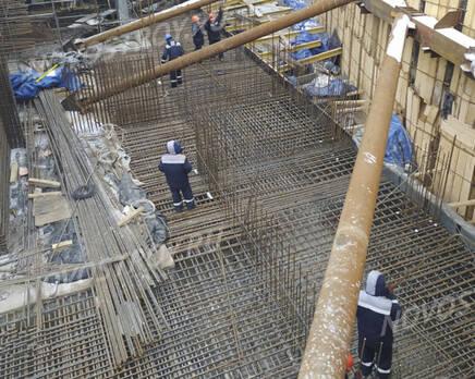 МФК «B'aires»: ход строительства, Февраль 2021