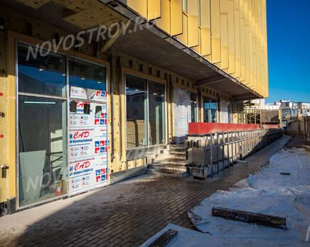 МФК «Mitte»: ход строительства, Февраль 2021