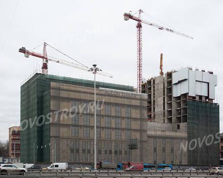 МФК «Alcon Tower»: ход строительства, Февраль 2021