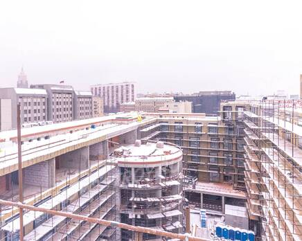 МФК «Roza Rossa»: ход строительства, Февраль 2021