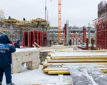 ЖК «Victory Park Residences»: ход строительства, Февраль 2021