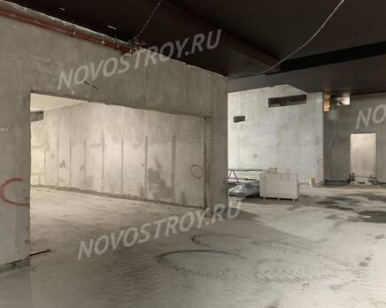 МФК «Carre Blanc»: ход строительства, Февраль 2021