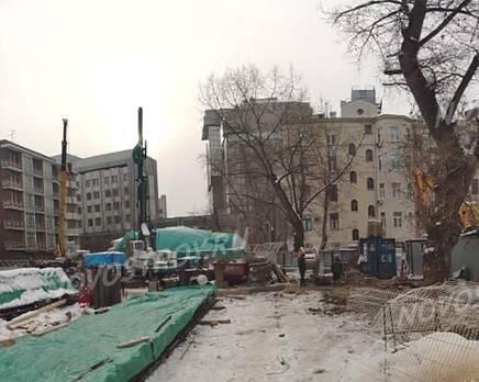 ЖК «High Garden»: ход строительства, Февраль 2021