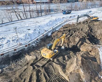 ЖК «Foriver»: ход строительства, Февраль 2021