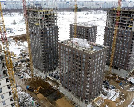 ЖК «Holland park»: ход строительства корпуса №10, Март 2021