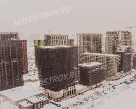 ЖК «Now. Квартал на набережной»: ход строительства, Март 2021