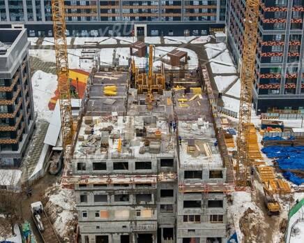 ЖК «AFI Tower»: ход строительства, Март 2021