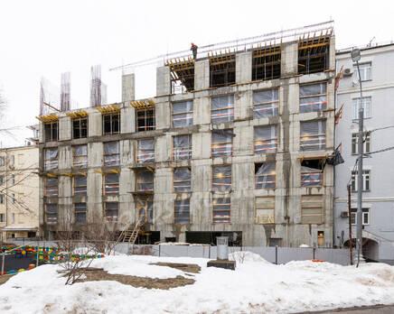 ЖК «Titul на Якиманке»: ход строительства, Март 2021