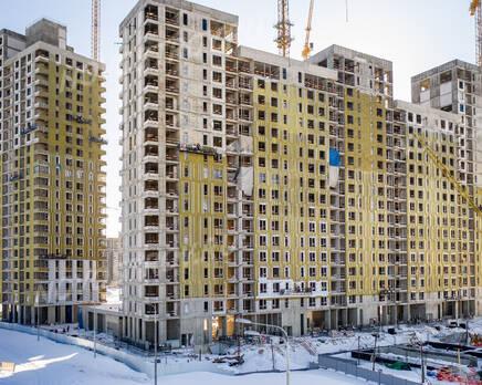 ЖК «Alia»: ход строительства, Март 2021