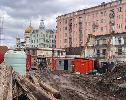 МФК «Allegoria Mosca»: ход строительства, Май 2021
