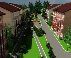 Визуализация ЖК «Канадский квартал»