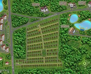 КП «Чистые пруды 3»: визуализация