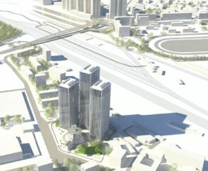 МФК «Хрустальные башни»: визуализация