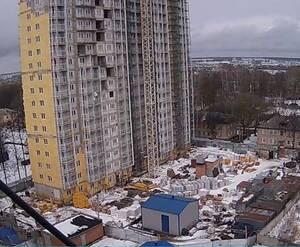 ЖК «Школьный»: камера видеонаблюдения на стройке