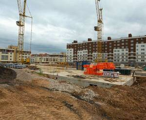 Малоэтажный ЖК «Малина»: ход строительства к. 6.1