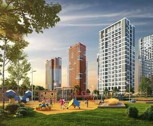 Комплекс апартаментов «Спутник»: визуализация