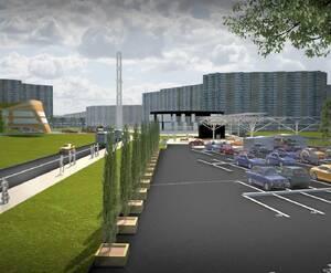 ЖК «в составе ТПУ Пятницкое шоссе»: визуализация