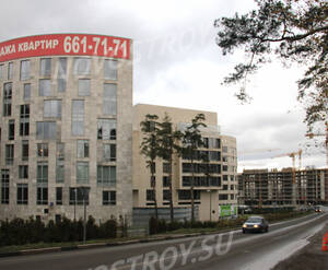 Фасад ЖК «Грюнвальд»