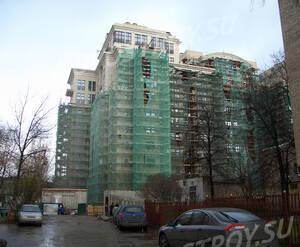 Внешние работы в ЖК «Андреевский»  (15.11.12)