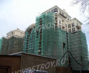 Завершающая стадия строительства ЖК «Андреевский» (15.11.12)