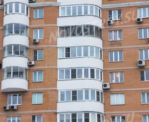 Кирпичная облицовка «Дома на Ленинском проспекте»