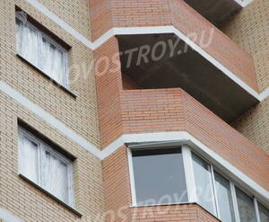 Балконы и лоджии ЖК «Бенуа» (24.10.12)