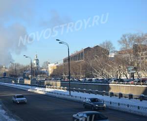 Автомагистраль рядом с ЖК «BERNIKOV» (16.01.13)