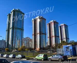 ЖК «Mirax park» (23.10.2013 г.)