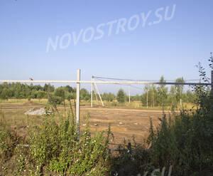 Место строительства ЖК «Виноградная лоза» (10.08.2014)
