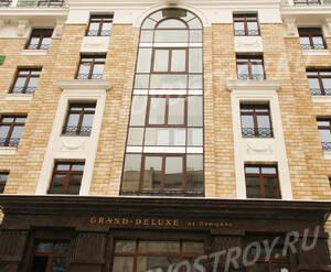 ЖК «Grand Deluxe на Плющихе»: Фасад, 4.02.2015