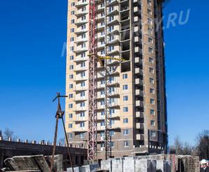 ЖК «Лермонтов»: Строящийся корпус, 10.03.2015 г.