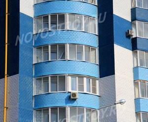 ЖК «Дом на Горького»: 08.04.2015 - Фрагмент средних этажей, вид с западной стороны