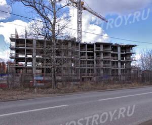 ЖК «в поселке Архангельское»: Строящийся корпус, 10.04.2015 г.