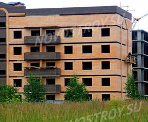 ЖК «Олимп-2»: 16.07.2015 - Фрагмент строящегося корпуса