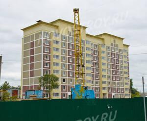 ЖК «Федеративный»: Строящийся корпус. 16.09.2015