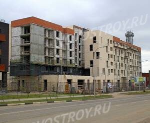 МФК «Отрада-апарт»: 15.10.2015 - Строящийся корпус