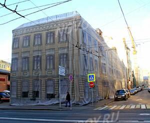 ЖК «Остоженка, 12»: 06.11.2015 - Дом на реконструкции, общий вид